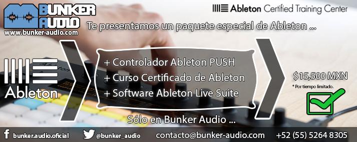 Bunker Audio   Promoci�n Ableton 2015   Img 0